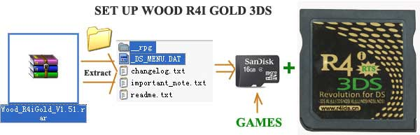 Kernel Installation & Firmware Upgrade for R4i Gold
