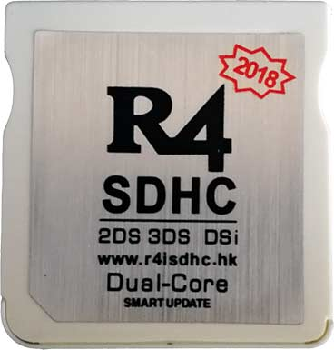 R4 Dual Core 2018 Card for Free Gaming on NEW 3DS XL 3DS 2DS DSi XL