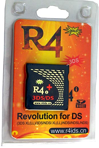 Wood R4i Gold 3DS PLUS RTS - Recommended R4i 3DS card for