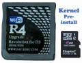 R4 SDHC Kingston Memory Card with Pre-installed Kernel